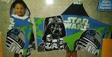 Star Wars R2D2 Hooded Bath Beach Towel Darth Vader Free Name