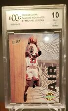 "Michael Jordan 1993-94 Fleer Ultra Famous Nicknames ""AIR"" #7/15. BCCG Mint 10"