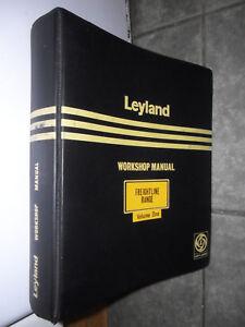 LEYLAND FREIGHTLINE RANGE WORKSHOP MANUAL BADGER RETREIVER HIPPO OCTOPUS BEAVER