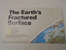 1995 MAP OF THE EARTH'S FRACTURED SURFACE NATIONAL GEOGRAPHIC (4)