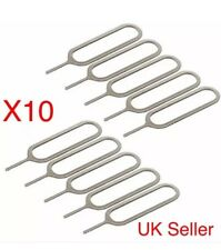 10 X Sim Ejector Card Removal Tray Pin Opener Tool For iPhone 5 6,6s 7 8 Samsung