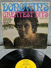 Donovan - Donovan's Greatest Hits Lp BXN27439 Vinyl Epic 1969 US G+/VG