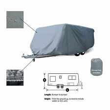 Travel Camper Trailer RV Motorhome Storage Cover Fits 23' -24'L
