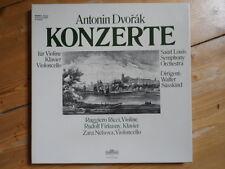 Dvorak Konzerte-Ricci, Firkusny, Nelsova-Dirigent W.Süsskind-3er Lp Box