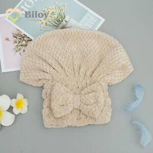 Bath Towel Microfiber Bath Towels Quick-drying Polyester Soft Bath Hair Dry Cap