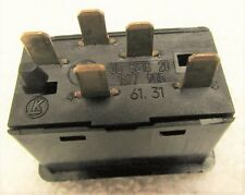 GENUINE BMW E23 E24 E28 E30 Power Window Switch PRIOR T0 09/1986 61311377905