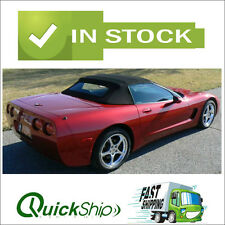 1998-2004 Corvette Convertible Top With Defroster Glass Window - C5