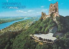Konigswinter am Rhein Drachenfels Germany Postcard Unused VGC