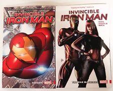 Invincible Iron Man Vol. 1 Reboot 2 War Machines Marvel Graphic Novel Comic Book