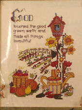 Candamar Counted Cross Stitch Kit God Touched Reflections For The Heart Sealed