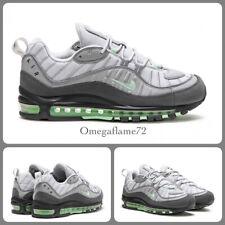 "Nike Air Max 98 ""Fresh Mint"", Sz UK 8.5, EU 43, US 9.5, 640744-011, Vast Grey,"