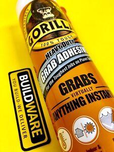 Gorilla Glue Grab Adhesive Heavy Duty Instant Grab 290ml Cartridge