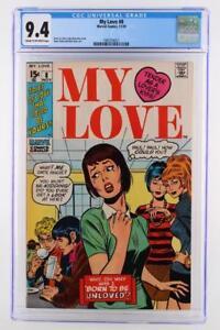 My Love #8 -NEAR MINT- CGC 9.4 NM -Marvel 1970- 2nd HIGHEST GRADE!!!