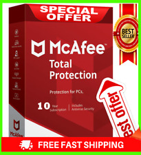 McAfee Total Protection 2020 Antivirus 3 Devices 🔟 Years✅ Ínstant dєlivery 🔑