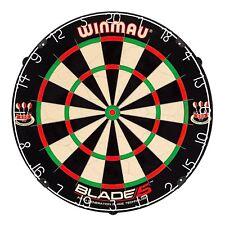 WINMAU Blade 5 Bristle Dartboard w/ Wall Mount Kit, Brand New