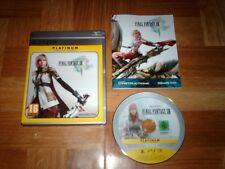 FINAL FANTASY 13...jeu complet...sur PS3