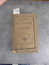 Imbert Anomalies de la vision envoie à Monoyer ophtalmologie optique médecine
