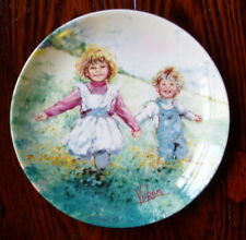 Playtime by Mary Vickers Collector Plate made by Wedgwood Queens Ware 1982