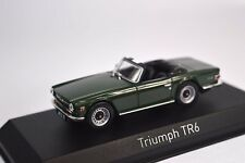 TRIUMPH TR6 1970 ENGLISH GREEN 1:43 NOREV 350093 NEW