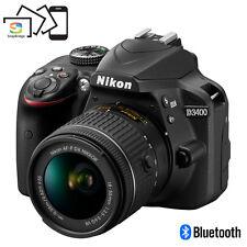 Nikon D3400 24.2 MP DSLR Camera w/ AF-P DX 18-55mm VR Lens Kit (Black)