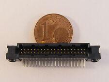 5x Amphenol/FCI RibCage Header 40pol., RM1,27mm, gewinkelt - AE27/9354