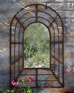 Decorative Antique Style Pergola Metal Mirror Garden Outdoor Patio Decoration