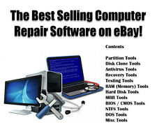 Computer Repair Restore Password Data Recovery Software Windows 7 8 Vista & XP