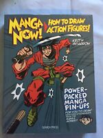 Manga Now! How to Draw Action Figures by Keith Sparrow 2014 Paperback