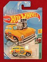 2020 Hot Wheels TOONED 8//10 Surf /'N Turf 83//250 Yellow Int. Card