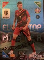 Panini Adrenalyn XL UEFA Euro 2020-2021 Kevin De Bruyne Top Master Rare Card
