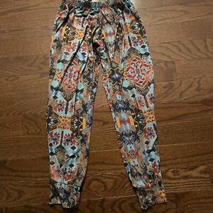 Onzie Yoga Leggings Size S/M Cropped Capri Multi-Color