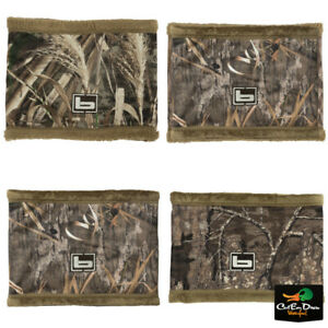 NEW BANDED GEAR DOUBLE LAYER FLEECE LINED CAMO NECK GAITER B1080002