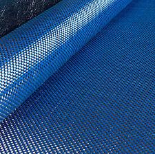 COLORATE Panno in fibra di carbonio blu Kevlar in tessuto ad armatura a tela materiale 127cm x 28cm