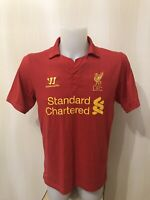 FC Liverpool 2012/2013 Home Size M Warrior football shirt soccer jersey maillot