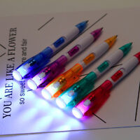 Multifunctional Ballpoint Pen With Bright LED Light Torch Pen Writing Stationery