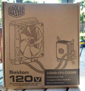 Cooler Master Seidon 120V - Compact AlO CPU Liquid Water Cooling System