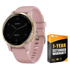 Garmin Vivoactive 4S Reloj inteligente Polvo rosa/oro con 1 año de garantía extendida