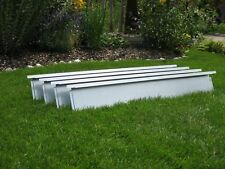 10x Broad Lawn Edging 20 cm high for perfect garden installation