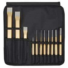 Rennsteig CHISEL PUNCH TOOL SET with Tool Roll Made In Germany 11pcs