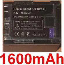 Batterie 1600mAh type BP-819 BP819 Pour CANON Vixia FS100
