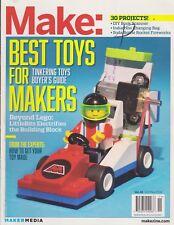 MAKE MAGAZINE OCTOBER/NOVEMBER 2014 *BEST TOYS FOR TINKERING*