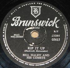 BILL HALEY ~ RIP IT UP b/w TEENAGERS' MOTHER BRUNSWICK 78 RPM E EXCELLENT GRADE
