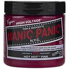 Manic Panic Semi-Permanent Hair Color Cream, Hot Hot Pink 4 oz (Pack of 8)