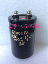 1PCS HITACHI 16V 100000UF Car Condenser Electrolytic Capacitor 50X120mm #E237 YX