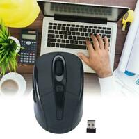 1x 2.4GHz Wireless Portable Cordless Mouse Mice Optical Computer Laptop L3G8