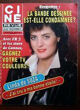 b)Ciné Télé Revue 26/04/1984; Linda De suza/ Enquête sur la Bande Dessinée