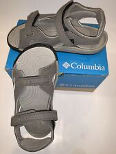 NEW! Columbia Boys Size Youth 13 Gray Sandal Shoes Skimmer Gift! Nice $30