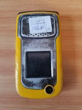 VERY VERY USED++YELLOW UNLOCKED SAMSUNG RUGBY 2 SGH-A847 CELL PHONE AT&T FIDO+++