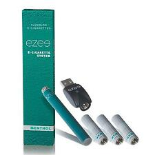 Ezee E-Zigarette Starterset Menthol 0, 12, 20 mg Nikotin Mit 3 Depots / Filter