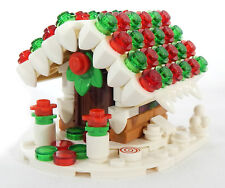 NEW LEGO GINGERBREAD HOUSE Christmas Winter Village custom MOC no box